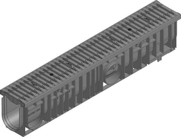 کانال پیش ساخته آب مدل ۴۷۰۶۰ با درپوش ( گریتینگ ) پلی آمید