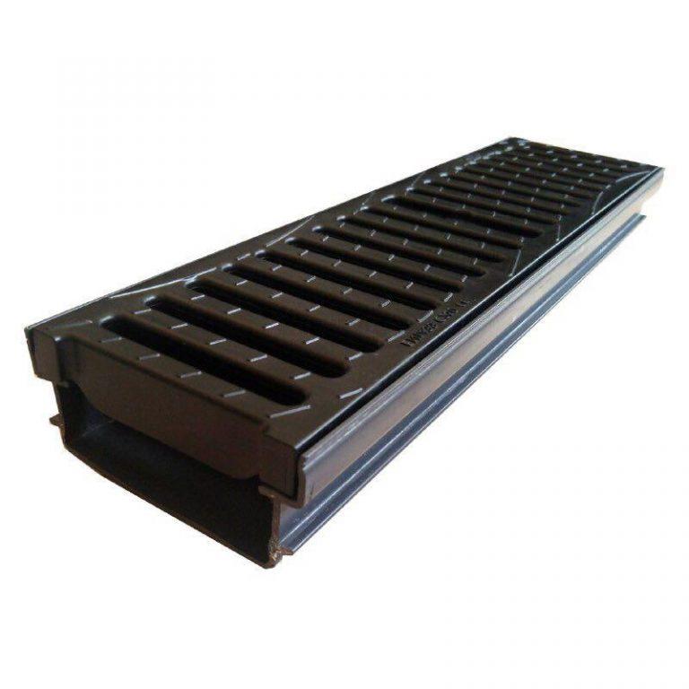 کانال پیش ساخته آب مدل CAB131+GDE10CN با درپوش ( گریتینگ ) پلی آمید