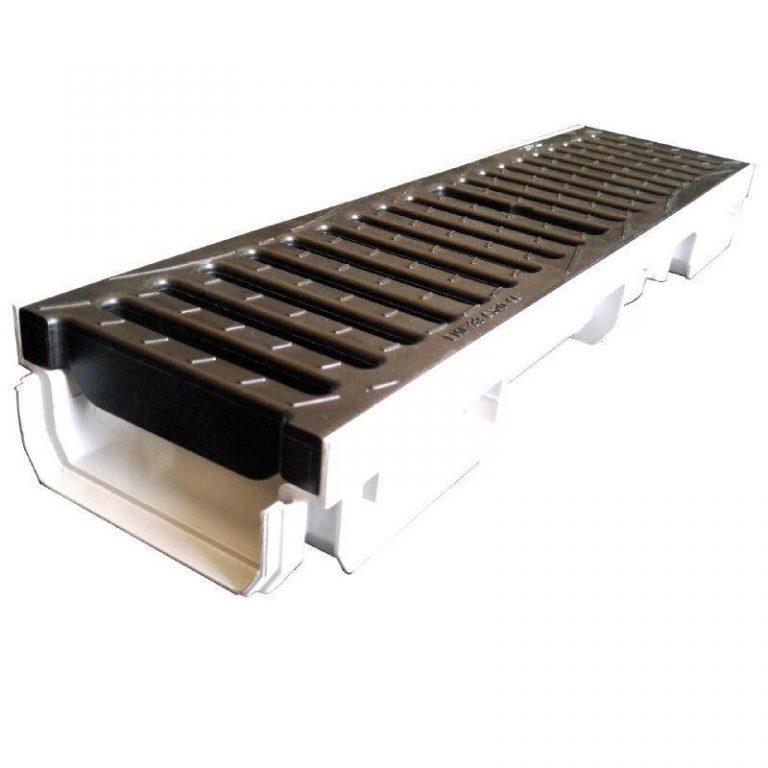 کانال پیش ساخته آب مدل CAB773+GDE10CN با درپوش ( گریتینگ ) پلی آمید