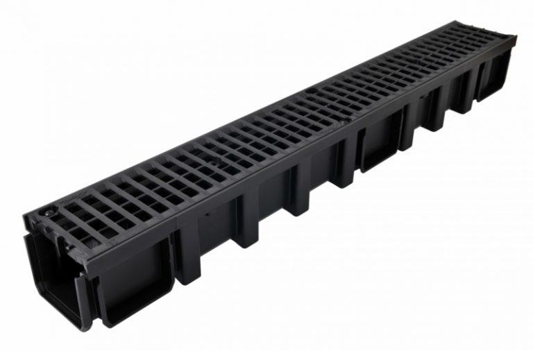 کانال پیش ساخته آب مدل CAN10BN با درپوش ( گریتینگ ) پلی آمید