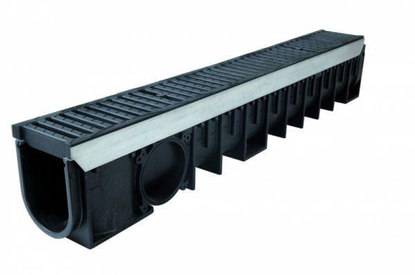 کانال پیش ساخته آب مدل DR102CN با درپوش ( گریتینگ ) پلی آمید
