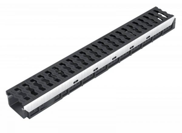 کانال پیش ساخته آب مدل DR100CF با درپوش ( گریتینگ ) چدنی